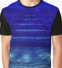 Underwater Pyramids Graphic T-Shirt