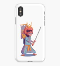 The Steady Strawberry Samurai iPhone Case