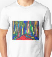 Abstract Forest T-Shirt