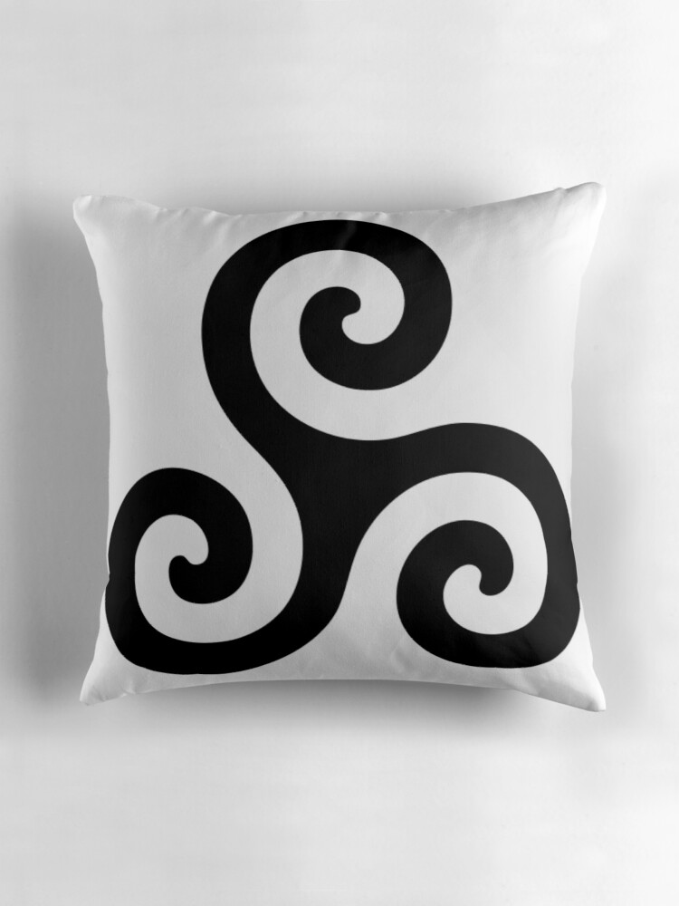 Quot Merlin Druid Symbol Quot Throw Pillows By Fandomslikeomg