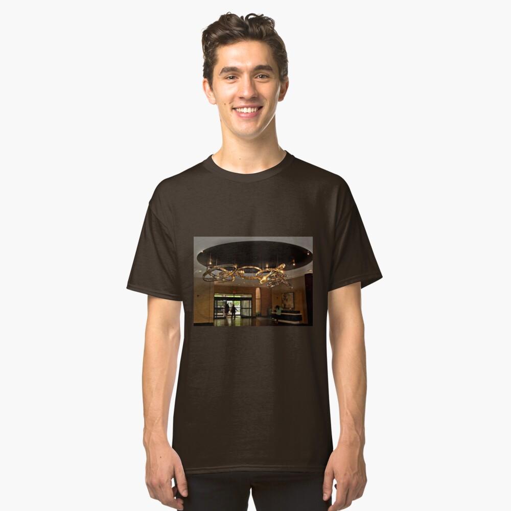 Hilton Hotel Lobby, Parsippany NJ USA Classic T-Shirt Front