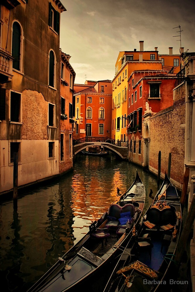 Evening in Venice by Barbara  Brown