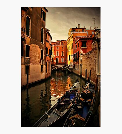 Evening in Venice Photographic Print