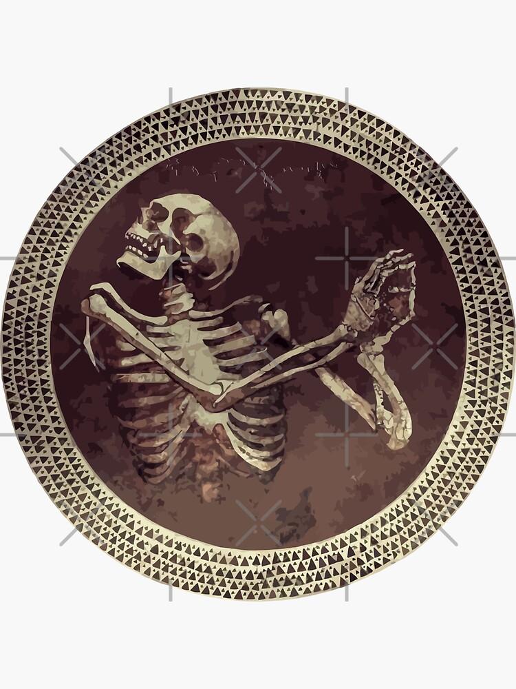 Hannibal: Tanzender Schädel + Skeleton Mosaik von camboa
