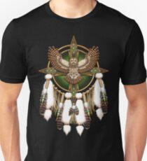 Barred Owl Native American Mandala Unisex T-Shirt