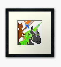 Battle Cat Framed Print