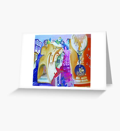Over time Greeting Card