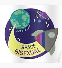 Certified Space Bisexual Poster