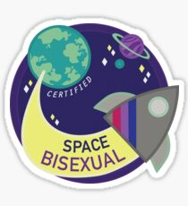 Certified Space Bisexual Sticker