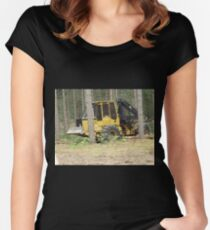 Machinery  Women's Fitted Scoop T-Shirt