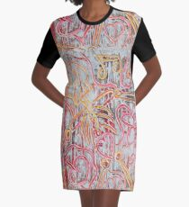 Rustikale Knochen T-Shirt Kleid