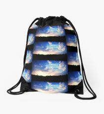 beauty in the world Drawstring Bag