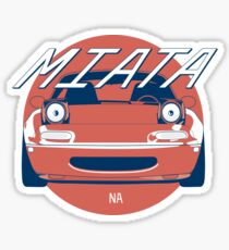 Mazda Miata (Hinomaru) Sticker