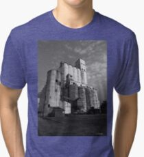 Rice Towers of Katy Texas Tri-blend T-Shirt