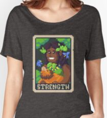 Strength Tarot - Derowen Women's Relaxed Fit T-Shirt