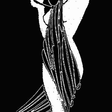 Art Deco Sun Goddess by adammcinerney