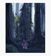 Lámina fotográfica El bosque de Gravity Falls