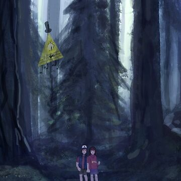 The Forest of Gravity Falls by Phantost