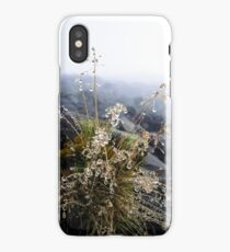 water condensation on a plant iPhone Case/Skin