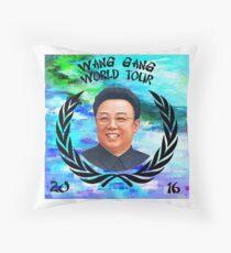 Wang Gang World Tour I Throw Pillow
