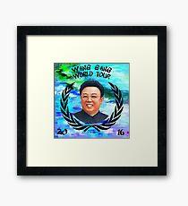 Wang Gang World Tour I Framed Print