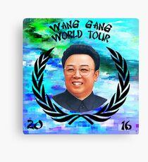 Wang Gang World Tour I Canvas Print