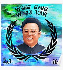 Wang Gang World Tour I Poster