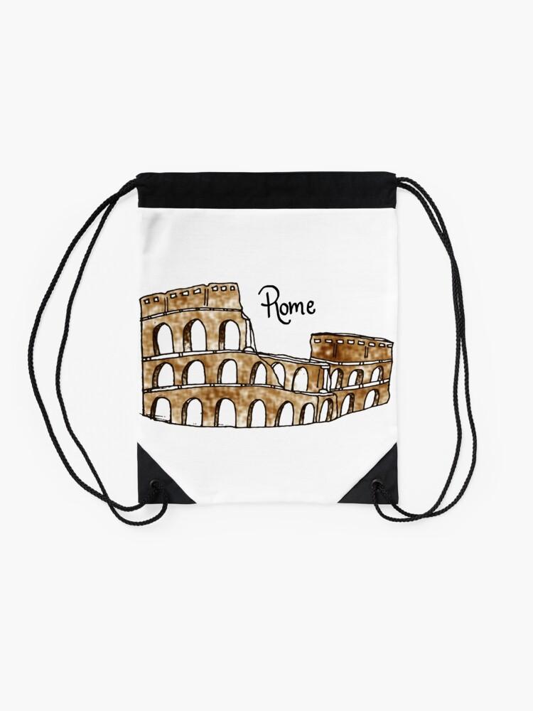 Vista alternativa de Mochila saco Roma