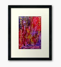 Symbolic Framed Print