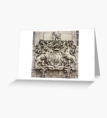 Royal Coat of Arms Greeting Card
