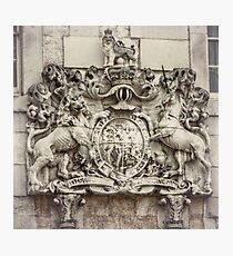 Royal Coat of Arms Photographic Print