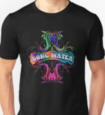 BONG WATER - black background Unisex T-Shirt