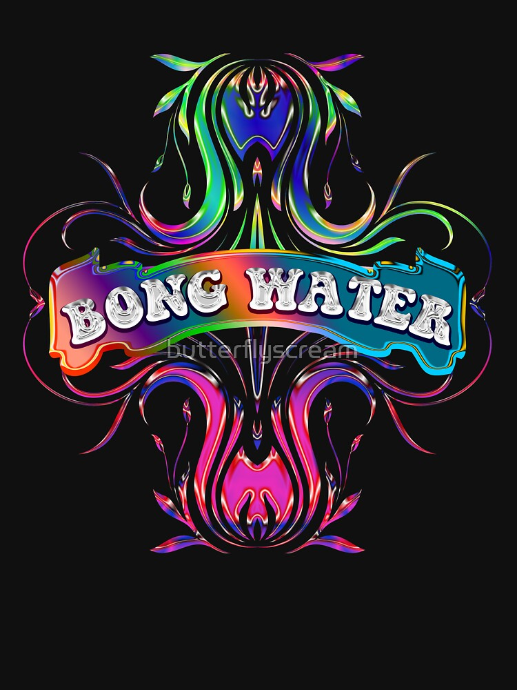 BONG WATER - black background by butterflyscream