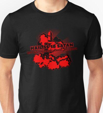 Oh no, John Ringo / Hail SS-18 Satan T-Shirt