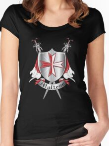 maltese Women's Fitted Scoop T-Shirt