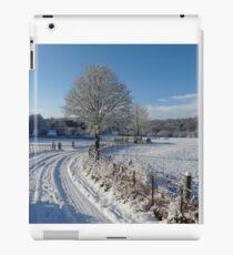 Snowy walk iPad Case/Skin
