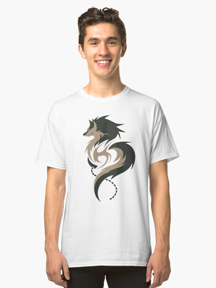 Hour of Twilight - Wolf Link Classic T-Shirt Front