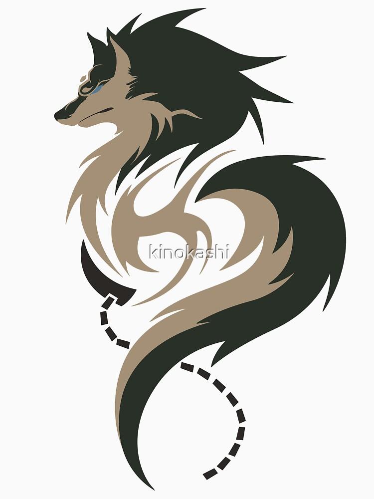 Hora del crepúsculo - Wolf Link de kinokashi