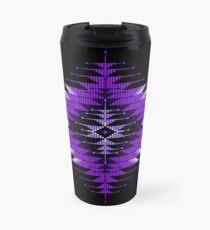 Purple Native American Southwest-Style Sunburst Travel Mug