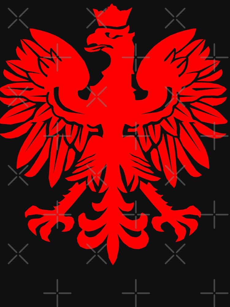 Polish Flag Red Eagle by GrizzlyGaz