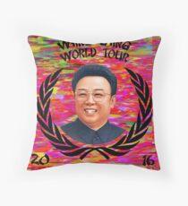 Wang Gang World Tour II Throw Pillow