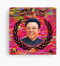 Wang Gang World Tour II Canvas Print