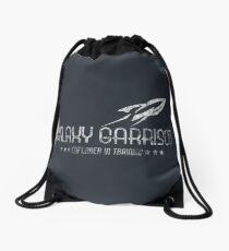 Galaxy Garrison [Distressed] Drawstring Bag