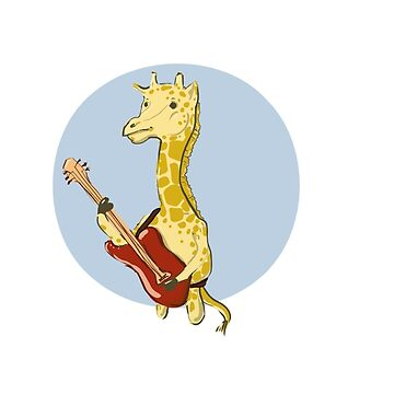 Giraffes Love Music by hayleyshangout