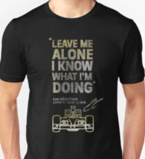 Kimi Raikkonen Leave Me Alone T-Shirt