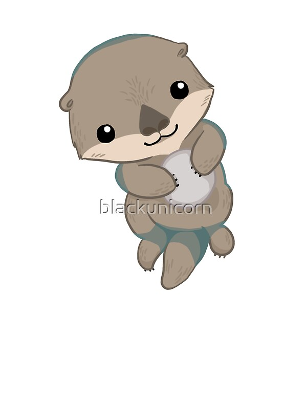 cute otter cartoon
