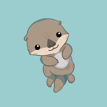 Cute Otter Pup by blackunicorn