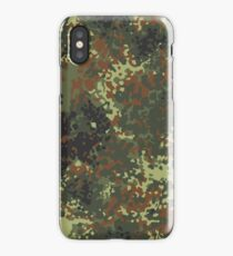 Flecktarn Camo iPhone Case