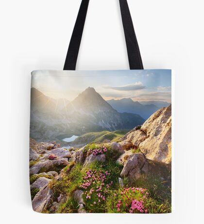 Bergparadies Tote Bag