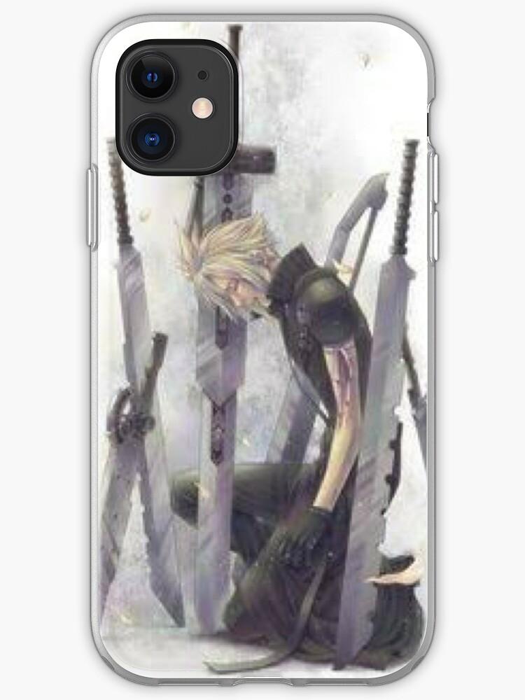 Cloud Final Fantasy iphone case